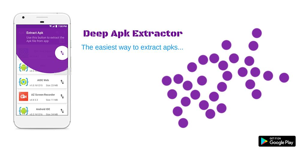 Deep Apk Extractor APK Icons cover