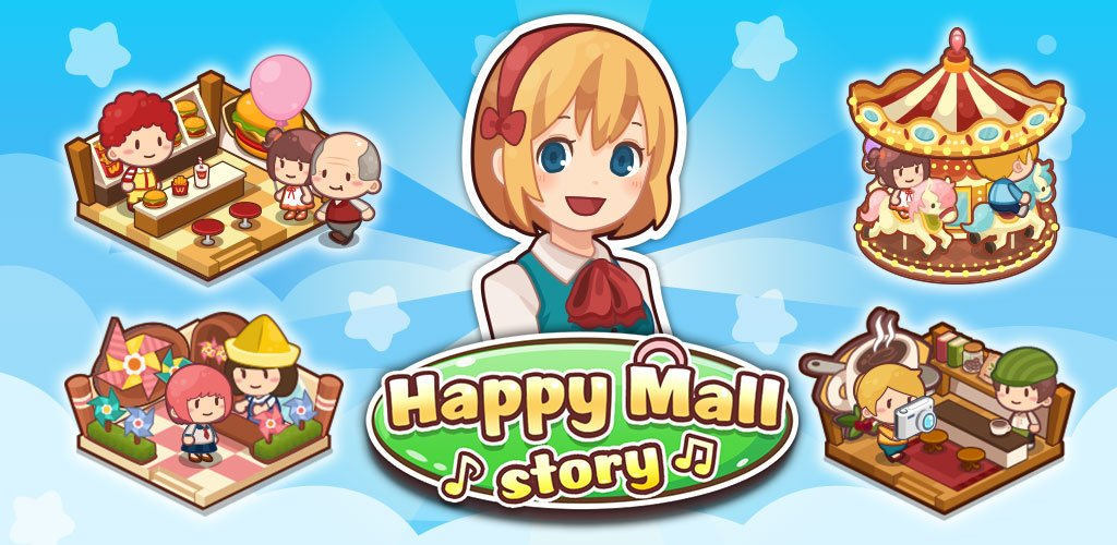 Happy Mall Story Sim Game Cover